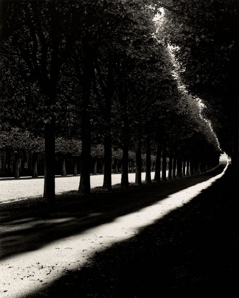 Michael Kenna Pathway, Sceaux, France, 1998, from the book 'France'