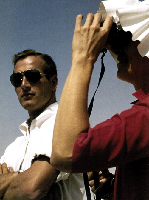Paul Newman & Joanne Woodward vacationing across Israel during the filming of Exodus (1959) Photographer, Leo Fuchs
