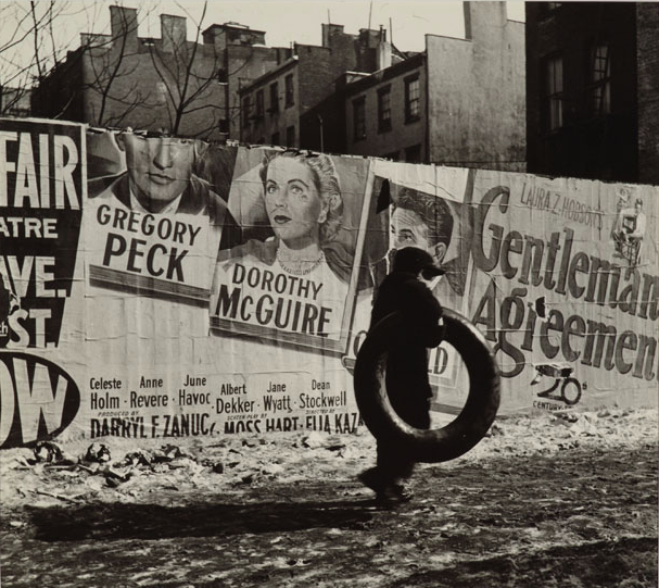 Rebecca Lepkoff Gentleman's Agreement, Lower East Side, New York City, 1947