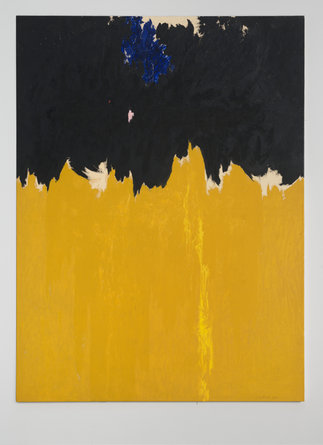 Clyfford Still, PH-950, 1950. Oil on canvas, 233.7 x 177.8 cm. Clyfford Still Museum, Denver © City