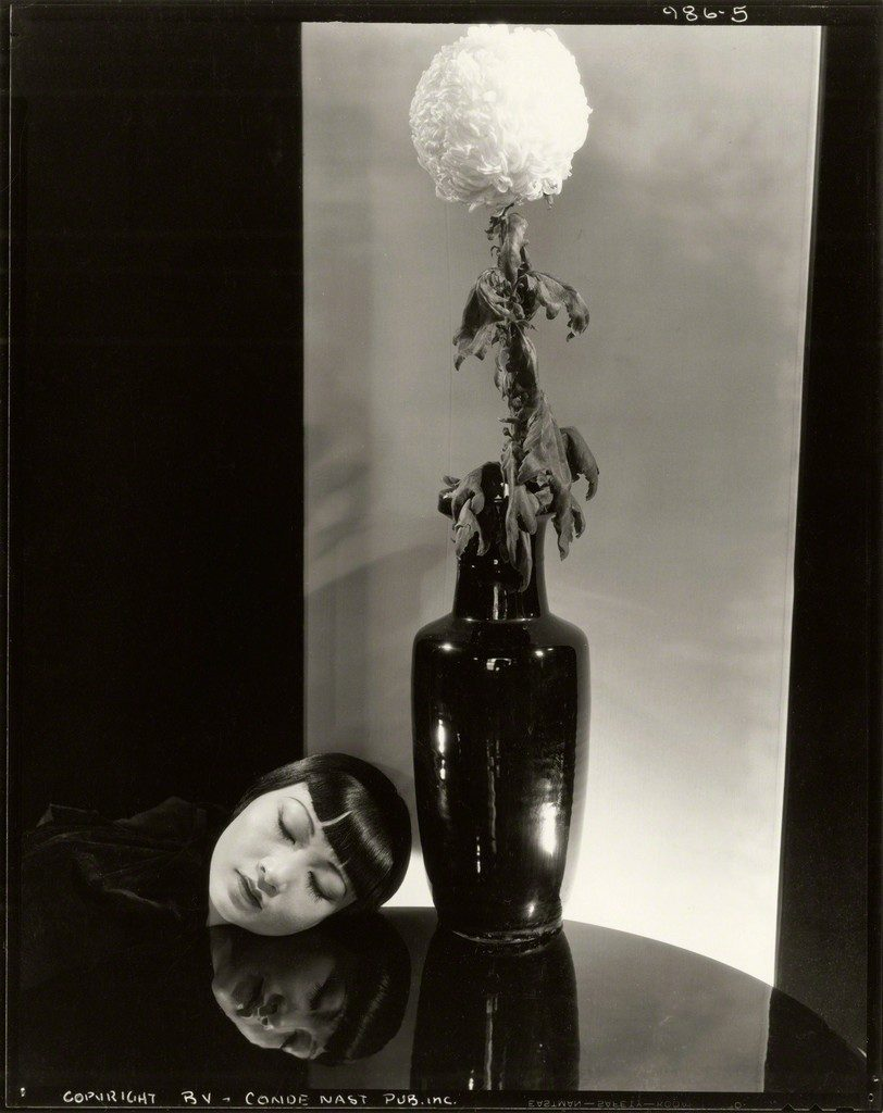 Edward Steichen Anna May Wong, NY, 1930 Selenium Toned Silver Gelatin Print 10 × 8 in