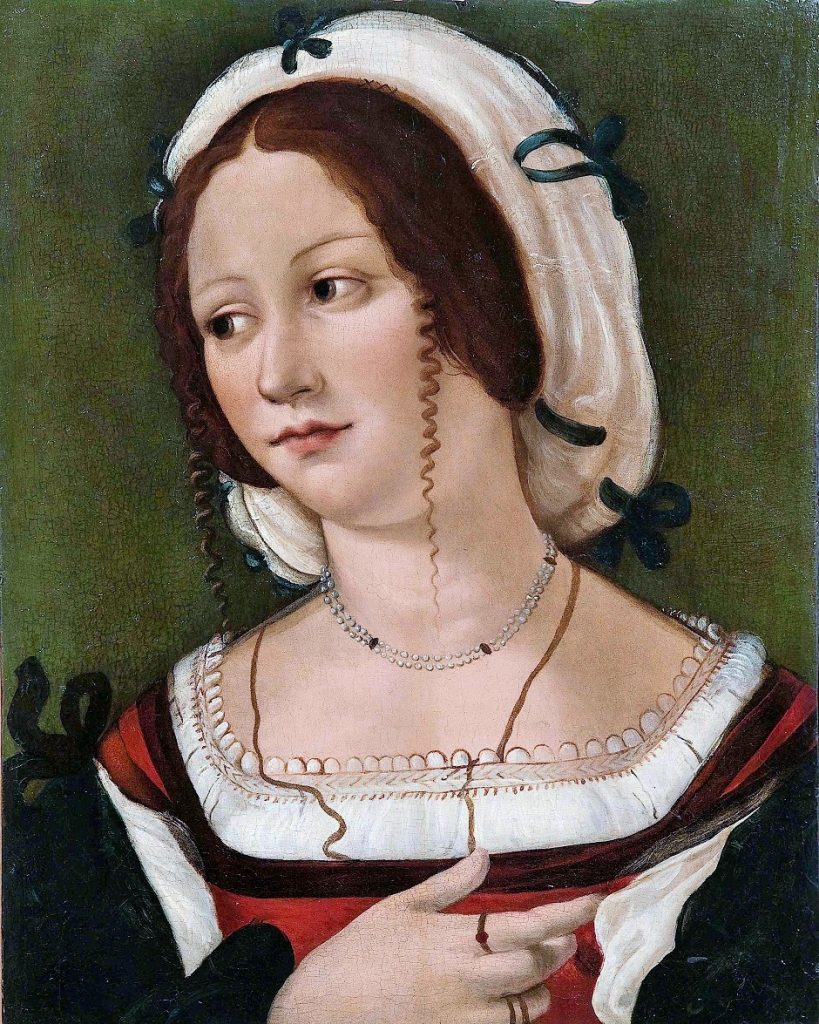 Bartolomeo Veneto Young Woman, 1510