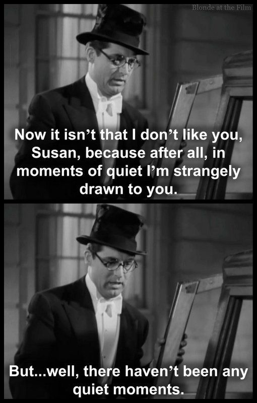 Cary Grant in Bringing Up Baby, 1938. Written by Dudley Nichols Hagar Wilde Robert McGowan Based on Bringing Up Baby 1937 short story in Collier's by Hagar Wilde