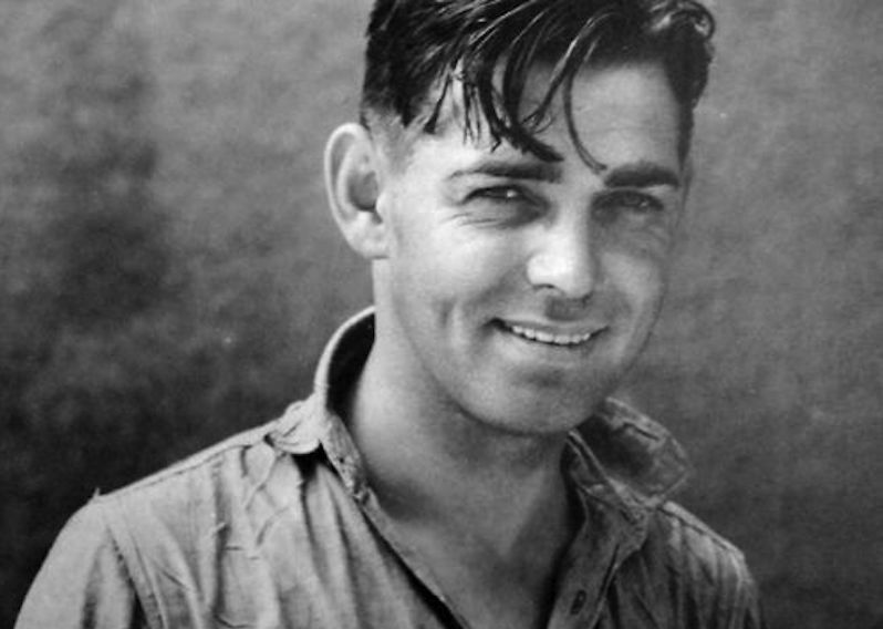 """One of the things I always admired about Clark Gable was between scenes, he didn't go lock himself up in his trailer. He would hang out with the guys, the electricians, they all loved him. He was not full of himself. It was nothing to come to set and find him straddling a bench, playing gim rummy with the crew."" —Ann Rutherford"