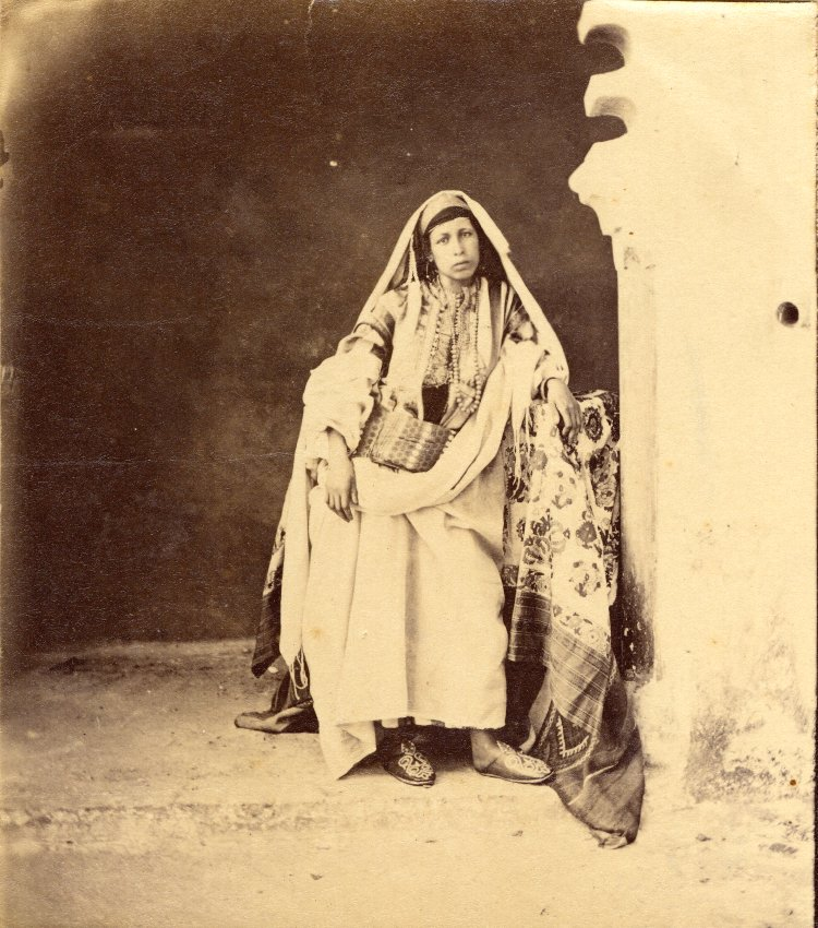 """Jewish woman of Mogador, Morocco"" 1850-1900"