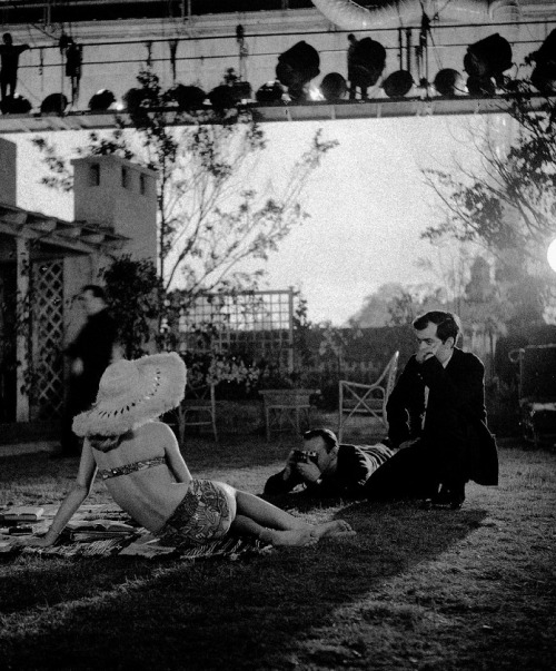 "Stanley Kubrick & Sue Lyon on the set of Lolita (1962) ""From the first, she was interesting to watch—even in the way she walked in for her interview, casually sat down, walked out. She was cool and non-giggly. She was enigmatic without being dull. She could keep people guessing about how much Lolita knew about life."" —Stanley Kubrick, 1962"