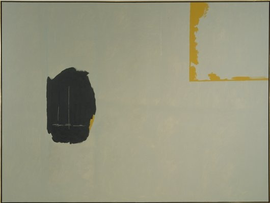 Robert Motherwell Untitled, 1971 Dimensions unframed 108 × 144.125 × 1.75 inches Materials acrylic on oil-sized cotton Walker Art Center