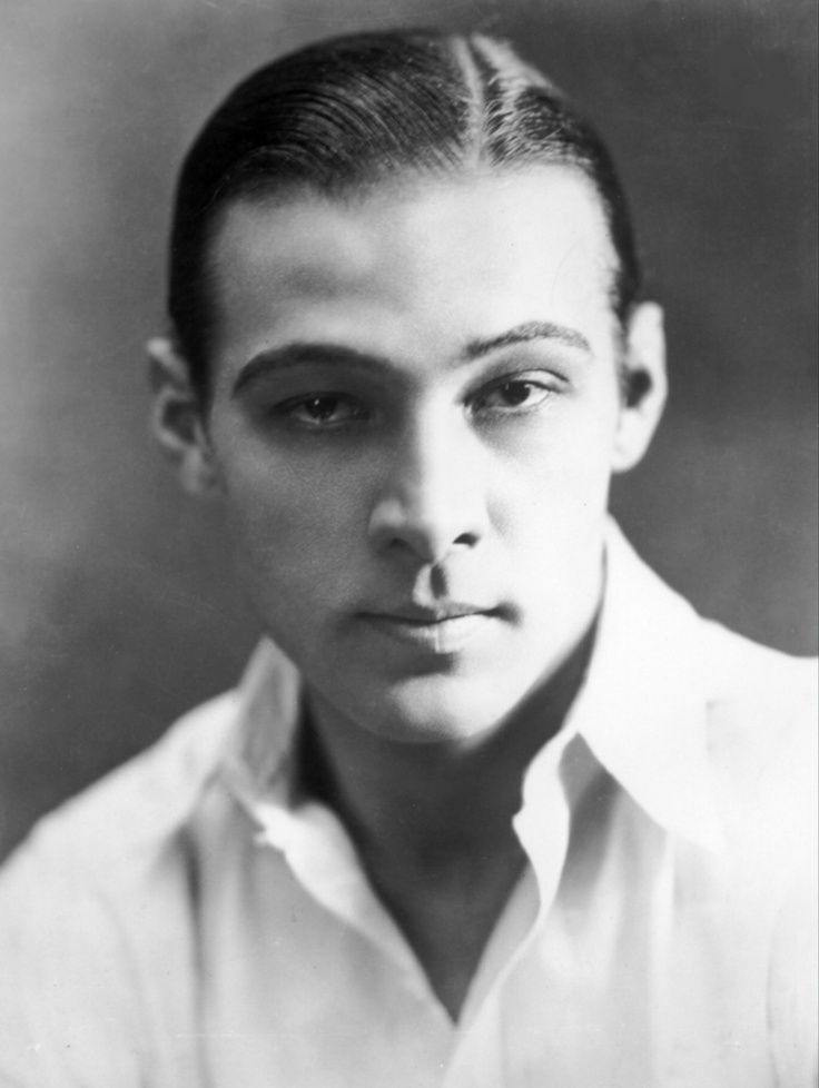 Rudolph Valentino at the height of his fame.