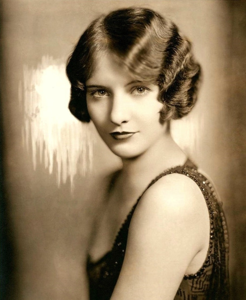 """""""I couldn't remember my name for weeks. I'd be at the theater and hear them calling, """"Miss Stanwyck, Miss Stanwyck"""", and I'd think, 'Where is that dame? Why doesn't she answer? By crickey, it's me!'"""" Young Barbara Stanwyck (born Ruby Catherine Stevens) by Mitchell Studios NY, 1926. This portrait was taken the year that she changed her name while working as an actress on Broadway."""