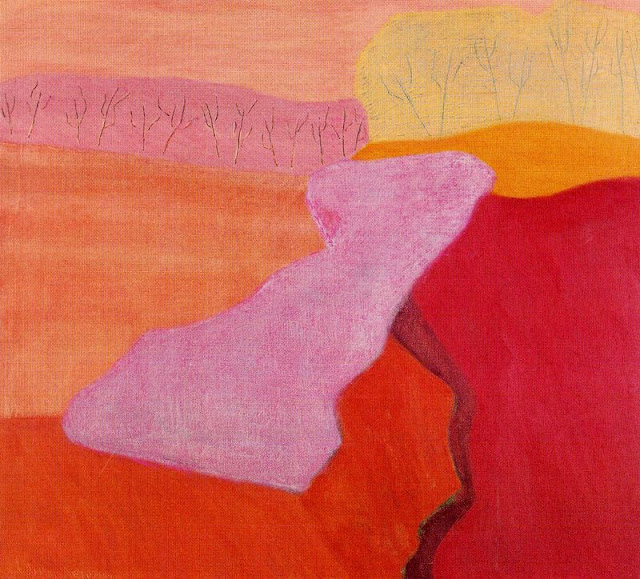Milton Avery (American artist, 1885-1965) Shapes of Spring, 1952