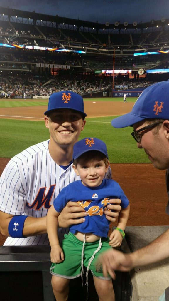 Ariel and Brandon Nimmo wish all our friends and relatives a winning Shabbat.