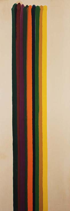 Morris Louis Approach, 1962 Acrylic on canvas 83 1/4 x 28 inches The Phillips Collection, Washington, D.C. Gift of Judith H. Miller, 1990