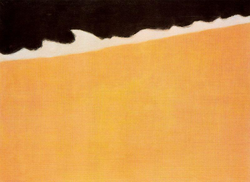 Milton Avery (1885-1965) Black Sea, 1959 Oil on canvas 50 x 67 3/4 inches The Phillips Collection, Washington, D.C. Acquired 1965