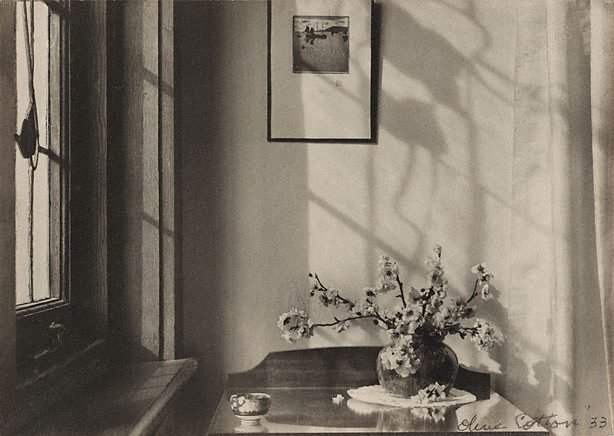 Olive Cotton Interior My Room, 1933