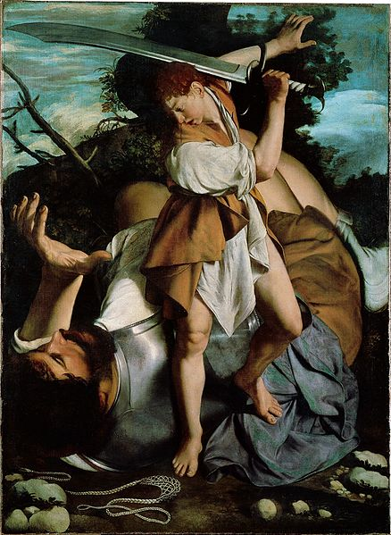 Orazio Gentileschi (1563–1639) David and Goliath Date, circa 1605-1607 oil on canvas 73 × 53.5 in National Gallery of Ireland