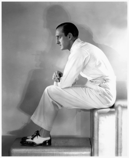 George Hurrell Basil Rathbone, 1937