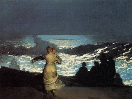 Winslow Homer (1836-1910) Summer Night 1890 Oil on canvas H. 76.7; W. 102 cm © RMN-Grand Palais (Musée d'Orsay) / Hervé Lewandowski