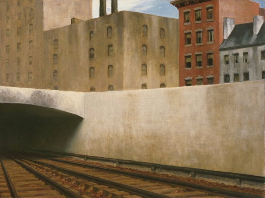 Edward Hopper (1882-1967) Approaching a City, 1946 Oil on canvas 27 1/8 x 36 inches The Phillips Collection, Washington, D.C.