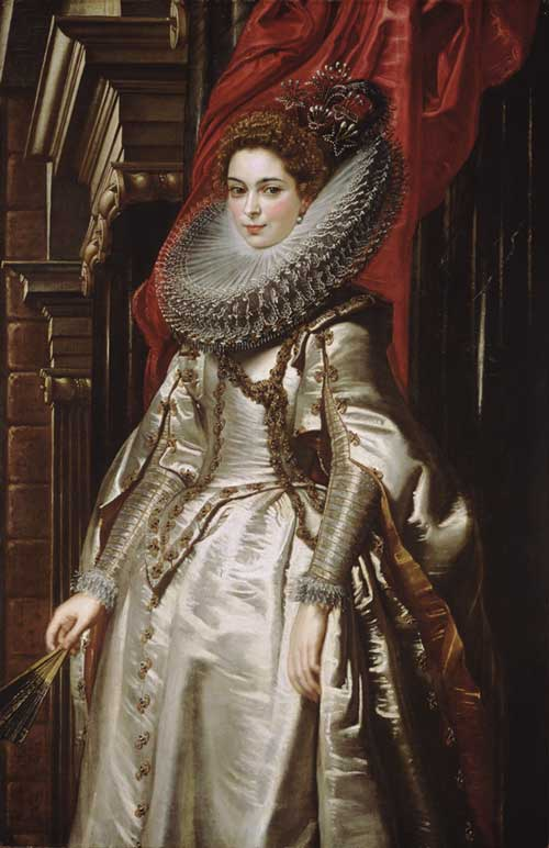 Sir Peter Paul Rubens Flemish, 1577 - 1640 Marchesa Brigida Spinola Doria 1606 oil on canvas overall: 152.5 x 99 cm (60 1/16 x 39 in.) framed: 188 x 134.6 x 10.8 cm (74 x 53 x 4 1/4 in.)