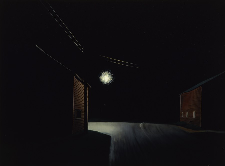 George Ault (American, 1891-1948), August Night At Russell's Corners , 1940 oil on canvas, 18 x 24 in.