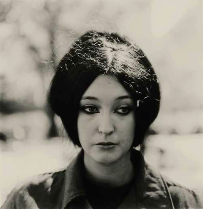 Diane Arbus Woman with Eyeliner N.Y.C. 1964
