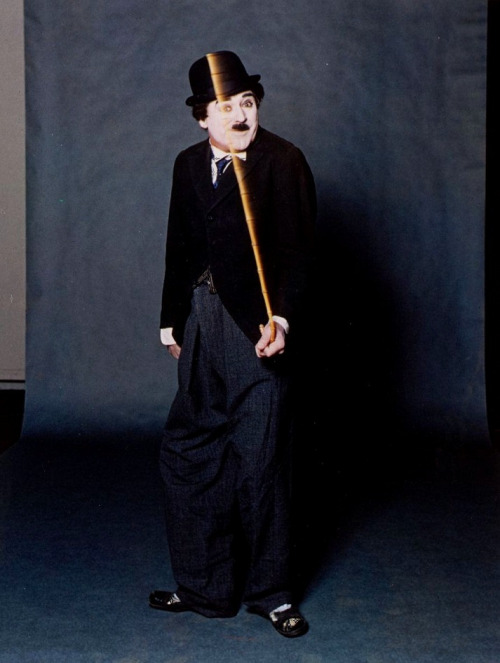 Cary Grant as Charlie Chaplin (photo by Bert Stern for LIFE Magazine, Dec. 23rd, 1963)