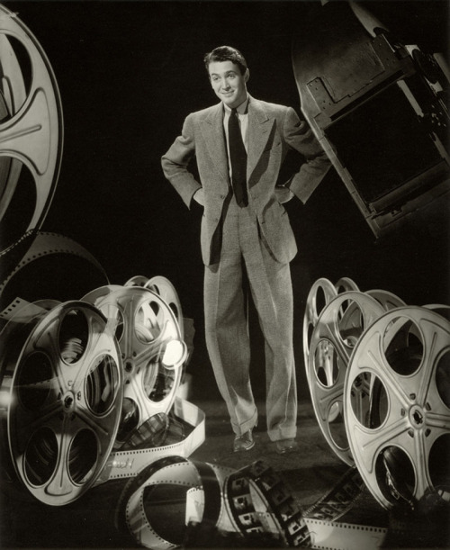 """""""I don't know about all this TV all day long now; there's people acting all the time - they turn the thing on, somebody's there acting at them. I wonder if that's good for people - all this acting."""" -Jimmy Stewart (via)"""