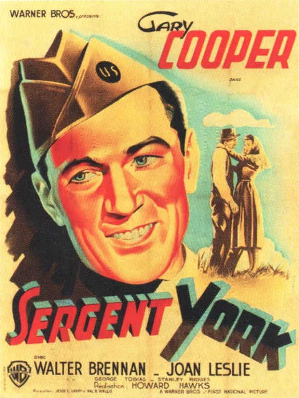Sergeant York was the highest grossing film of 1941. Adjusted for inflation, it is one of the highest grossing films ever produced.