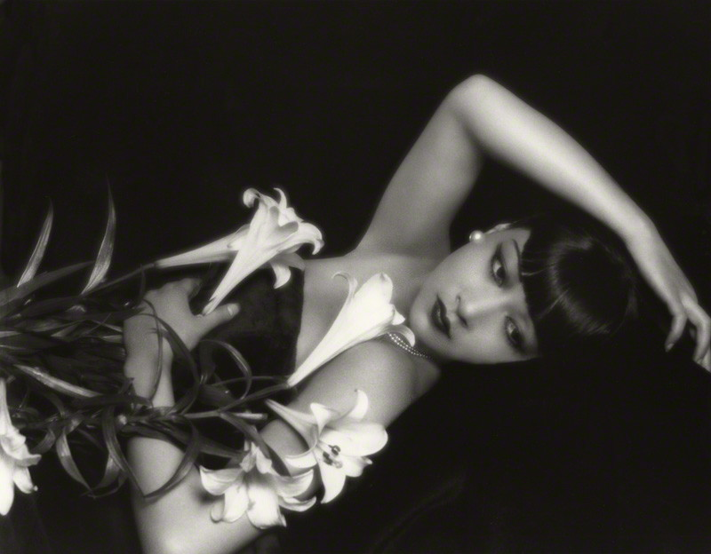 Anna May Wong by Paul Tanqueray, whole-plate glass negative, 1929
