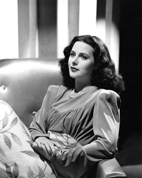 Hedy Lamarr photographed by Clarence Sinclair Bull, 1939