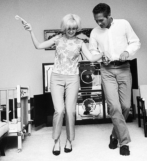 """""""Sexiness wears thin after a while and beauty fades, but to be married to a man who makes you laugh every day, ah, now that's a real treat."""" — Joanne Woodward"""
