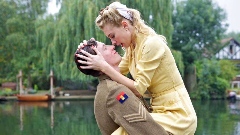 Callum Turner and Tamsin Egerton in John Boorman's God and Country.