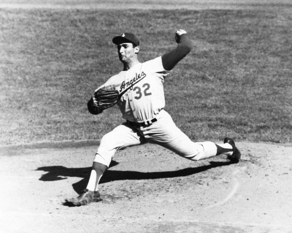 Sandy Koufax delivers.