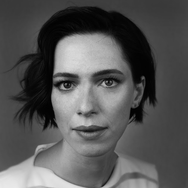 Rick McGinnis Portrait of actress Rebecca Hall, 2016