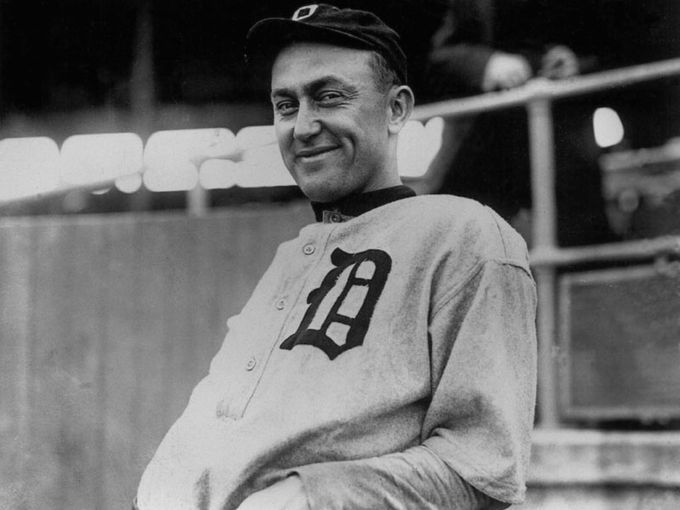 a description of ty cobb as the greatest baseball player